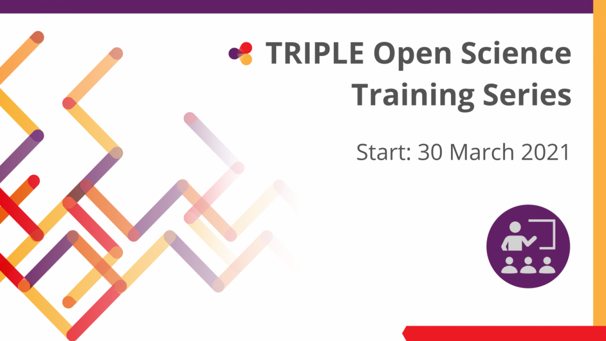 TRIPLE - Open Science Training Series - Logo